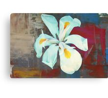 White Lily - Painted Canvas Print