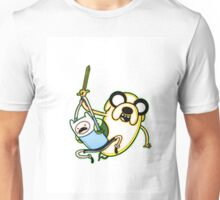 Adventure Time - Finn and Jake the Dog Unisex T-Shirt