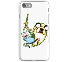 Adventure Time - Finn and Jake the Dog iPhone Case/Skin