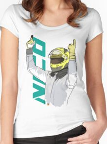 Nico Rosberg Women's Fitted Scoop T-Shirt