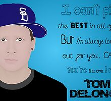 Tom Delonge (1 out of 3) by Sidrah Mahmood