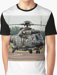 T-314 Aerospatiale AS.332 Puma of the Swiss Air Force Graphic T-Shirt