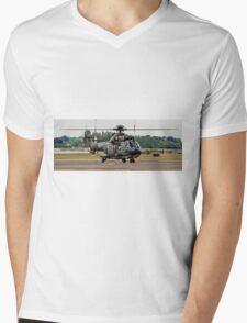 T-314 Aerospatiale AS.332 Puma of the Swiss Air Force Mens V-Neck T-Shirt