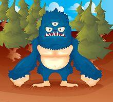 Caruleo, the Blue by Monstruonauta