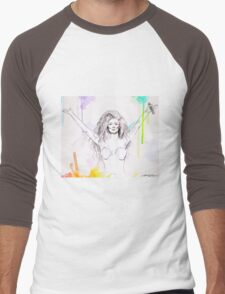 ART is in POP Men's Baseball ¾ T-Shirt