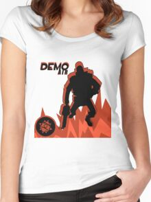 RED Demoman - Team Fortress 2 Women's Fitted Scoop T-Shirt