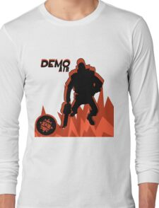 RED Demoman - Team Fortress 2 Long Sleeve T-Shirt