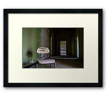 ...singled out... Framed Print