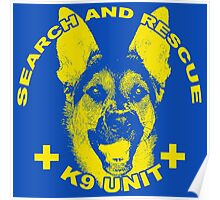 Search and Rescue K9 Unit Poster