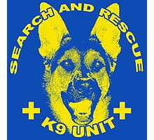 Search and Rescue K9 Unit Photographic Print