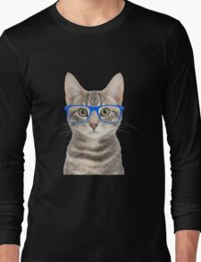 Seeing Eye Cat Long Sleeve T-Shirt