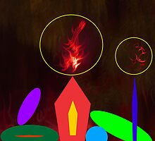 Michaellart - Color Candles One by Michaell  Magrutsche