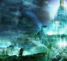 Final Fantasy VII - Midgard by ludoart