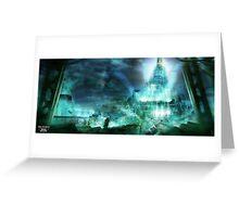 Final Fantasy VII - Midgard Greeting Card