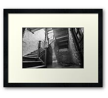 ...shadow of light... Framed Print