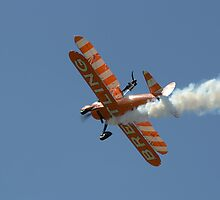 Breitling Stearman Wingwalkers by Nigel Bangert