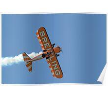 Breitling Stearman Wingwalkers Poster