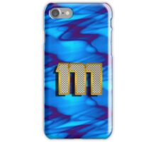 Monogram M personalized gift for him iPhone Case/Skin
