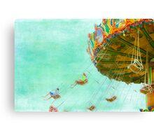 Carnival Ride, Amusement Park Canvas Print