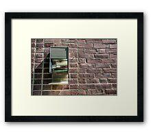 ...take the wall down... Framed Print