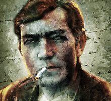 Julio Cortázar by Diego Tirigall