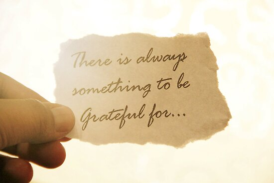 There is Always Something to be Grateful for by Laura-Lise Wong