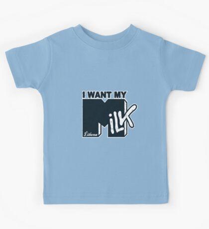 I Want My MILK Kids Tee