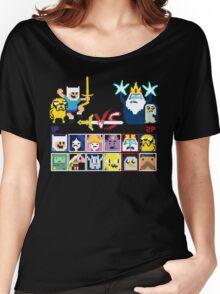 Super Adventure Fighter T-Shirt Women's Relaxed Fit T-Shirt