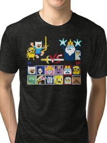Super Adventure Fighter T-Shirt Tri-blend T-Shirt