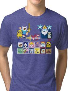 Super Adventure Fighter T-Shirt Tri-blend T-Shirt