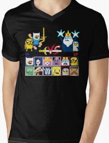 Super Adventure Fighter T-Shirt Mens V-Neck T-Shirt