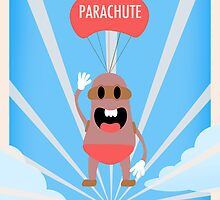 P is for Parachute by DizBuegs