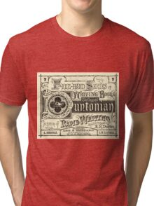 The Duntonian System of Rapid Writing Primer Tri-blend T-Shirt