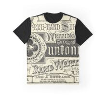 The Duntonian System of Rapid Writing Primer Graphic T-Shirt