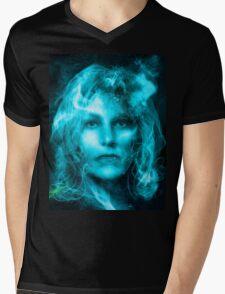 Breaking Bad blue Mens V-Neck T-Shirt