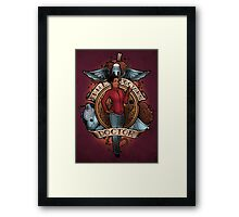 The Doctor's Doctor Framed Print