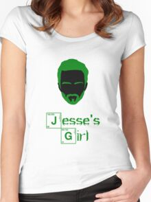 Jesse's Girl Women's Fitted Scoop T-Shirt