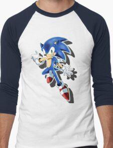 Blue Blur Men's Baseball ¾ T-Shirt