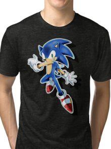 Blue Blur Tri-blend T-Shirt