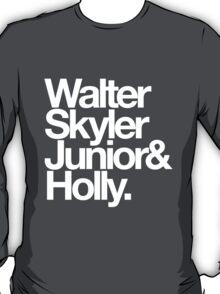 White Family. T-Shirt