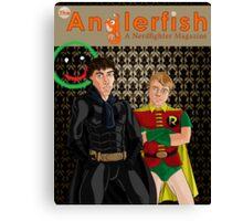 The Anglerfish Issue 5 - Batlock, no wait, Bat Holmes? Canvas Print