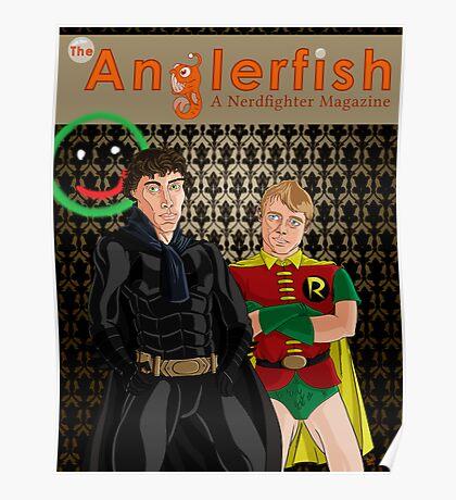 The Anglerfish Issue 5 - Batlock, no wait, Bat Holmes? Poster
