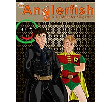 The Anglerfish Issue 5 - Batlock, no wait, Bat Holmes? Photographic Print