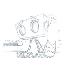 Broken Robot (Sketch 32) by Image6