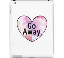Go Away Cosmic Heart iPad Case/Skin