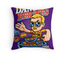 Dangle Berries Throw Pillow