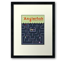 The Anglerfish Issue 4 - My Little Pac Man Framed Print