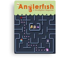The Anglerfish Issue 4 - My Little Pac Man Canvas Print