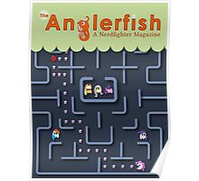 The Anglerfish Issue 4 - My Little Pac Man Poster