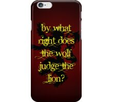 House Lannister Quote iPhone Case/Skin